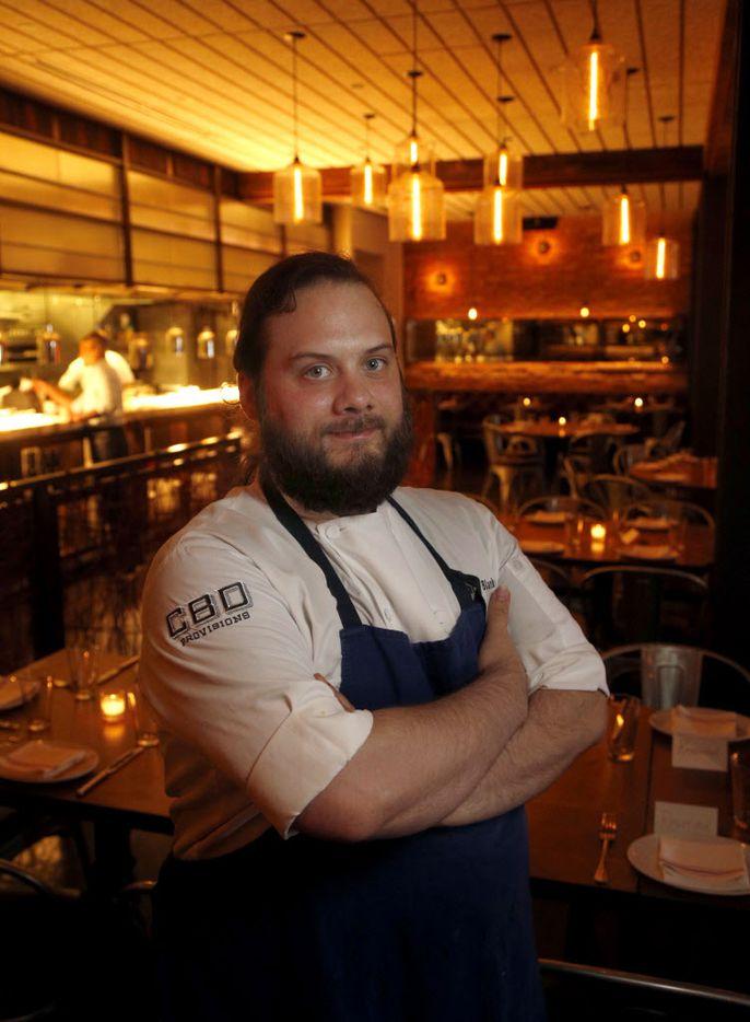 CBD Provisions executive chef Richard Blankenship