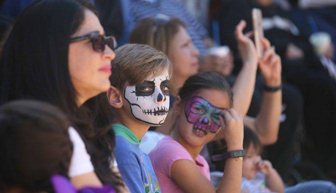 La tradición del Día de Muertos es cada vez más asentada en Dallas. MILKO MARÍN/DMN
