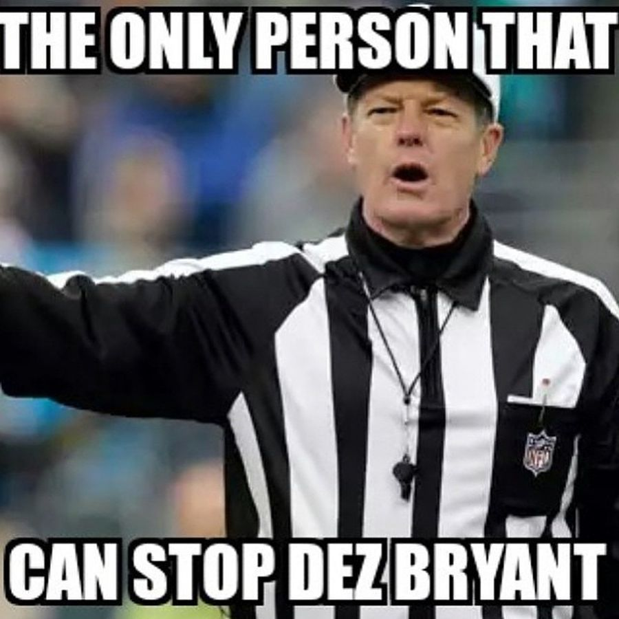 The 15 funniest memes from Cowboys-Packers: Bad refs