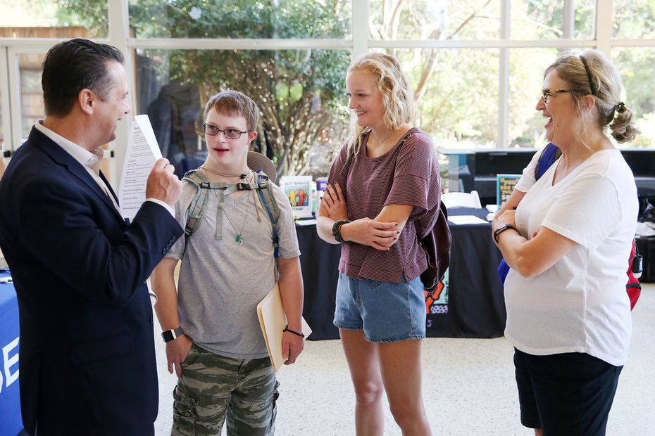 This fall, Daymark Living organized a job fair for people with intellectual and developmental disabilities at the State Fair of Texas.