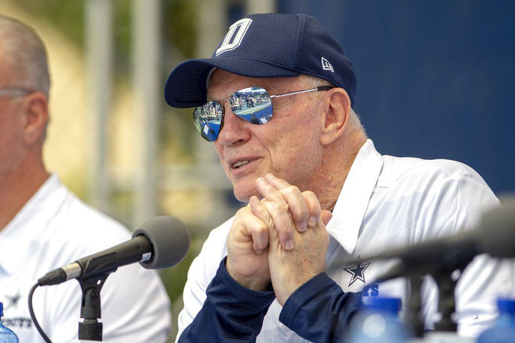 El dueño de los Cowboys de Dallas, Jerry Jones (AP Foto/Gus Ruelas)