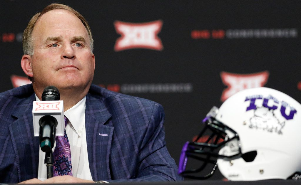 Takeaways from Gary Patterson's Week 1 presser: TCU has a starter, but this QB battle isn't over