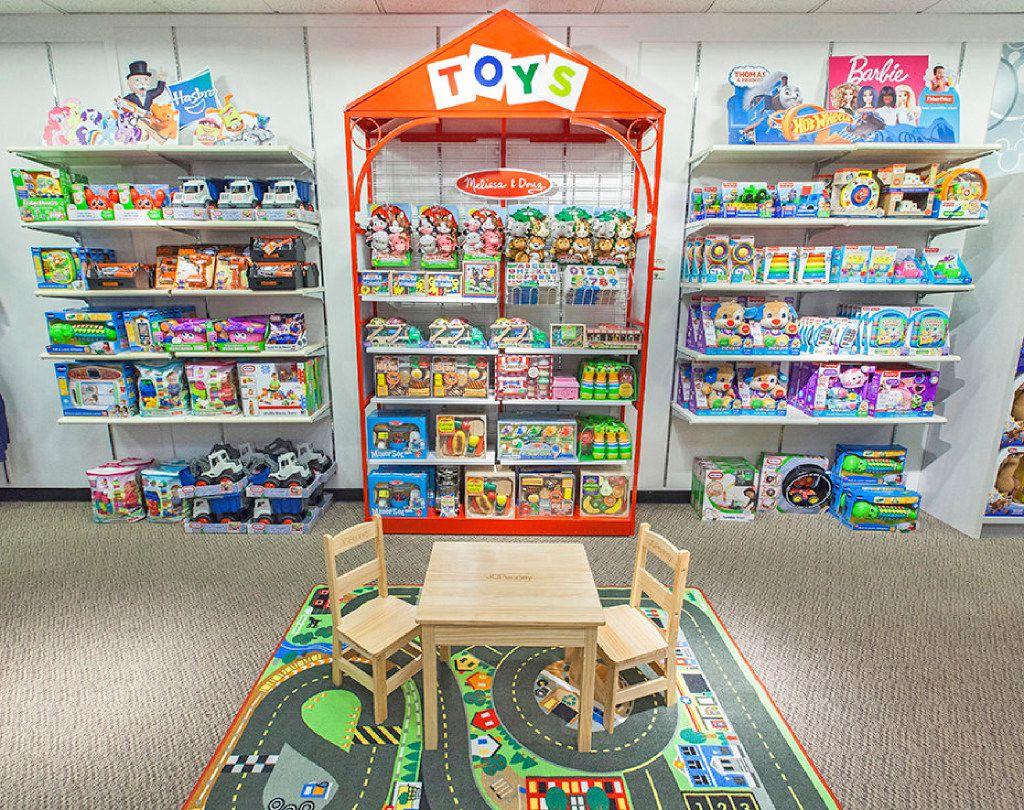 Toy shop inside J.C. Penney