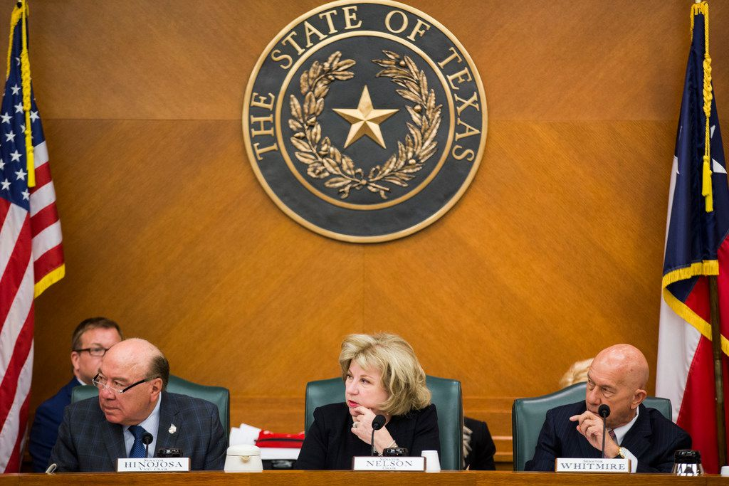 "The Senate's top budget writer, Flower Mound GOP Sen. Jane Nelson on Tuesday called her Finance Committee's version of the state budget ""a robust, fiscally responsible budget that meets the needs of our growing state."""