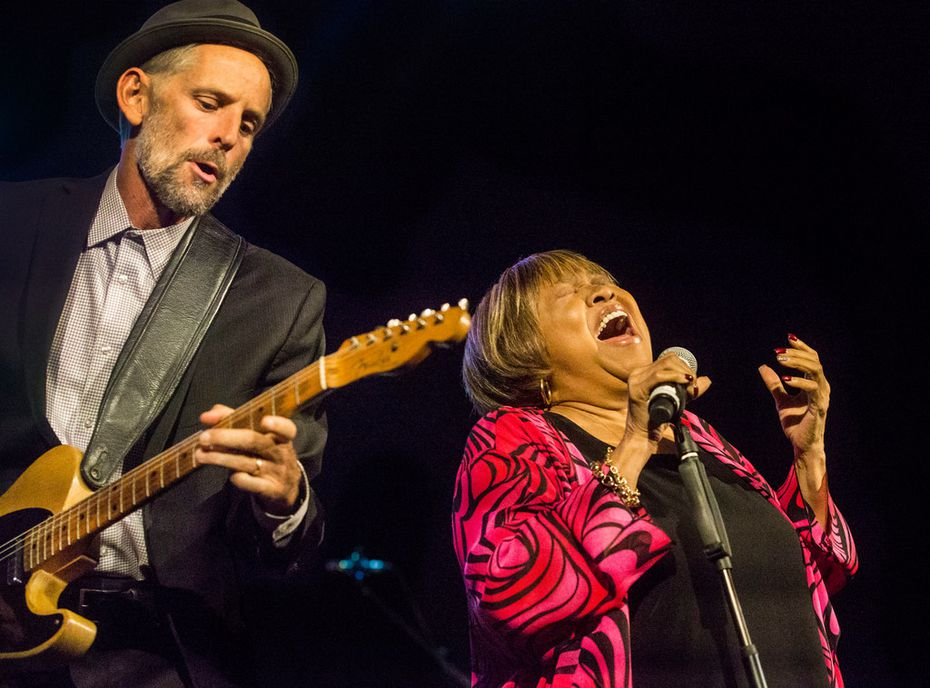 Singer Mavis Staples inspired the crowd Statler Hotel ion Aug. 24 with her powerful set of tunes.