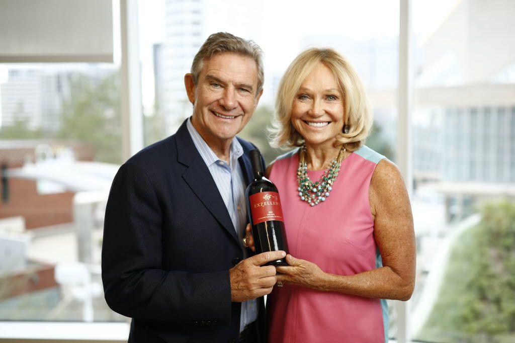 Craig and Kathryn Hall of Hall Wine.