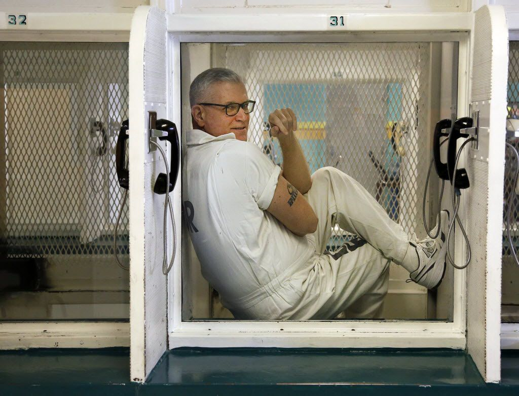 Death row inmate John Battaglia was the perpetrator in a highly publicized 2002 incident that began in Highland Park and ended when he killed his two daughters in a Deep Ellum loft while his wife listened on the phone. He is photographed at the Polunsky Unit in West Livingston, Texas, Wednesday, January 15, 2014.