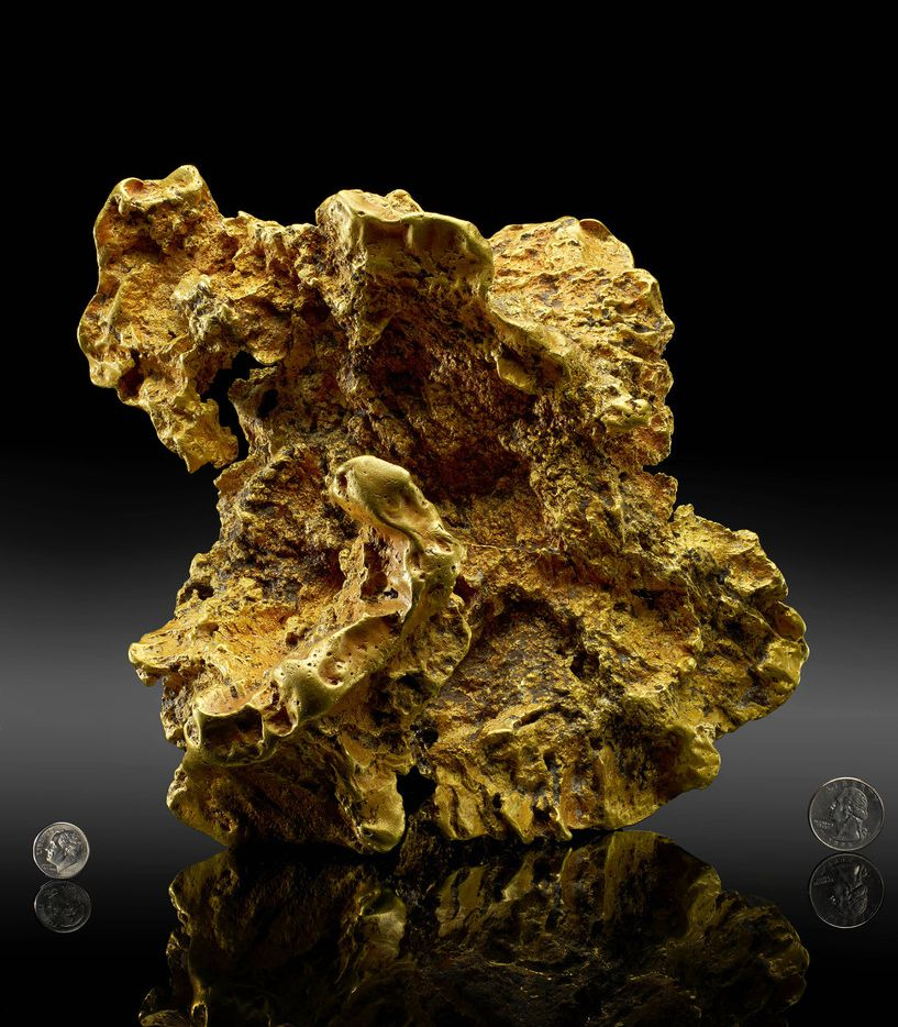 One of the world s most famous gold nuggets has returned to the Perot Museum of Nature and Science in Dallas. The Ausrox Gold Nugget, a true rock star in the gem and mineral world, was on loan as part of the original collection that debuted in the Lyda Hill Gems and Minerals Hall when the Museum opened to the public in December 2012. In 2015, the precious mineral headed south to the Houston Museum of Natural Science but is now back in all its glittering glory.