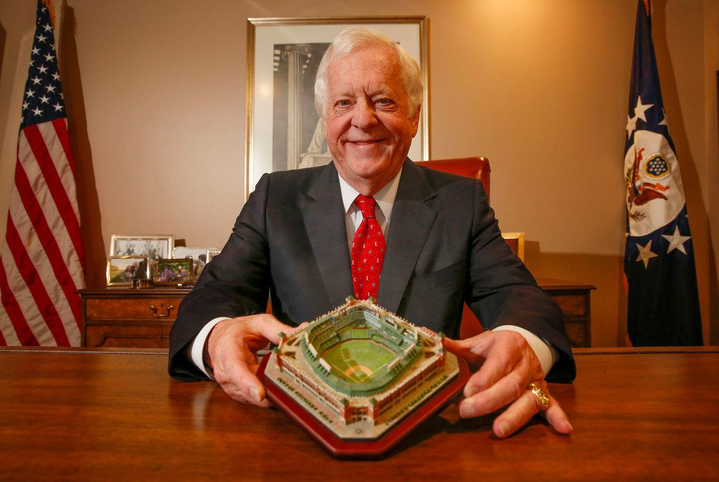 Former Texas Rangers owner Tom Schieffer in his office Fort Worth, Texas, Tuesday, September 10, 2019.