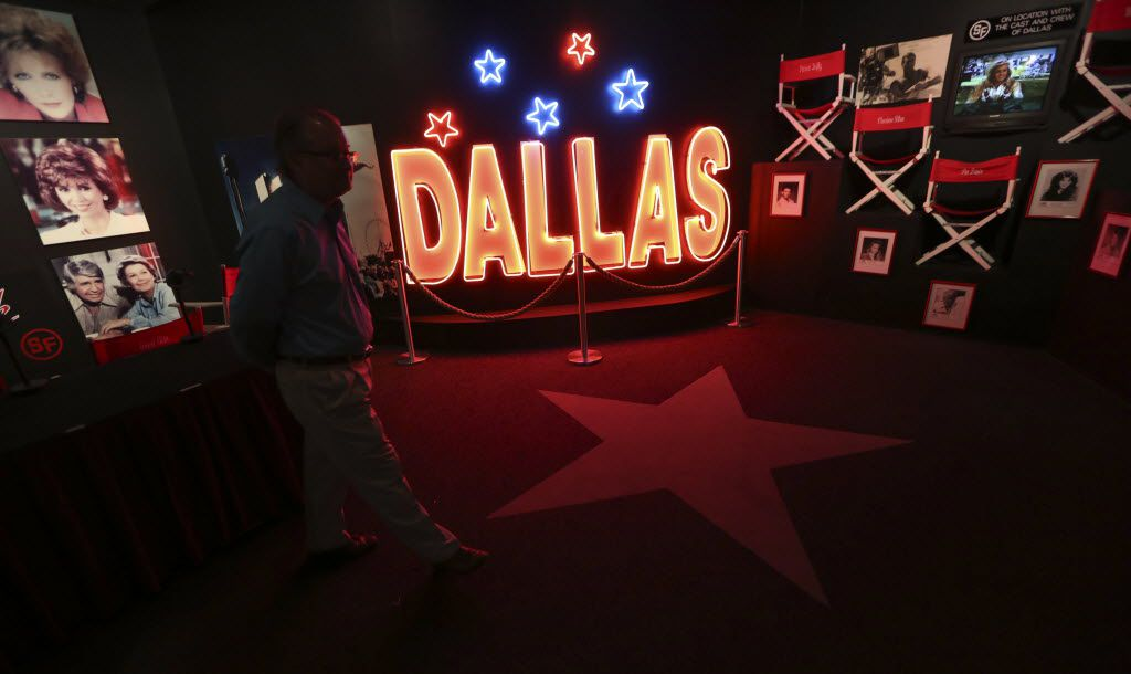 A glimpse inside the 'Dallas' museum at Southfork Ranch.