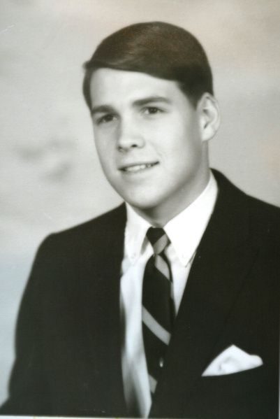 Rick Perry from his high school years.