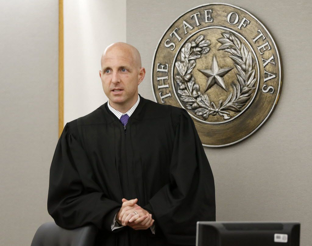 Judge Brandon Birmingham also will preside over another high-profile case — the August murder trial of Roy Oliver, the former Balch Springs officer who fatally shot 15-year-old Jordan Edwards.