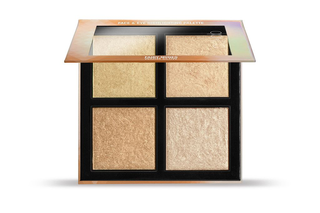 Col-Lab's Fairy Nudes Face & Eye highlights palette, $16.99