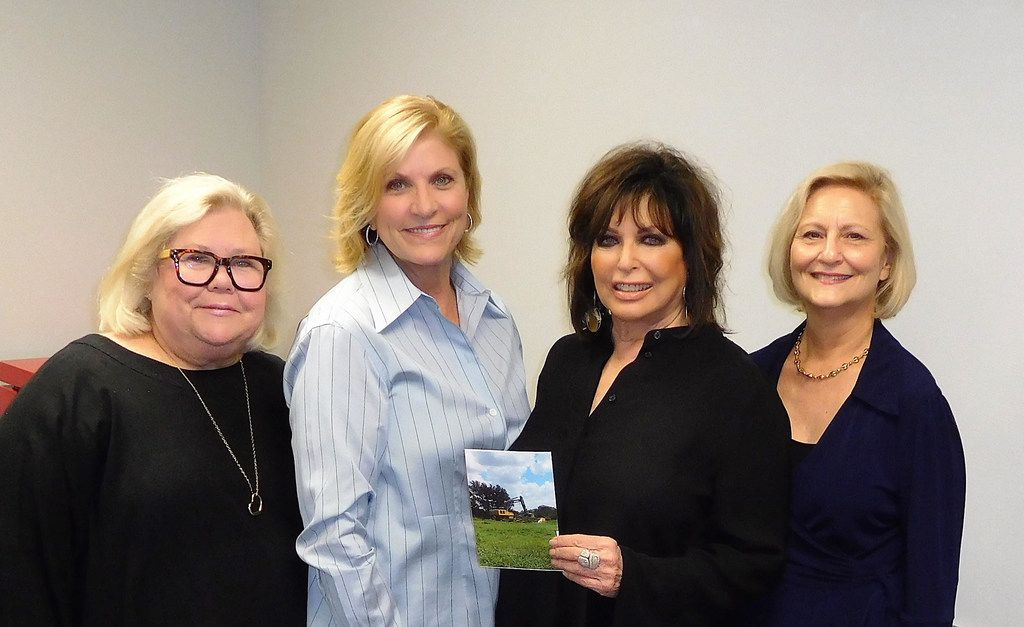 The Legacy Midtown Park capital campaign leadership team included (left to right) Sharon Levin, vice chair; Marion Glazer, co-chair; Carol Aaron, co-chair; and Andrea Statman, director of development for The Legacy Senior Communities.