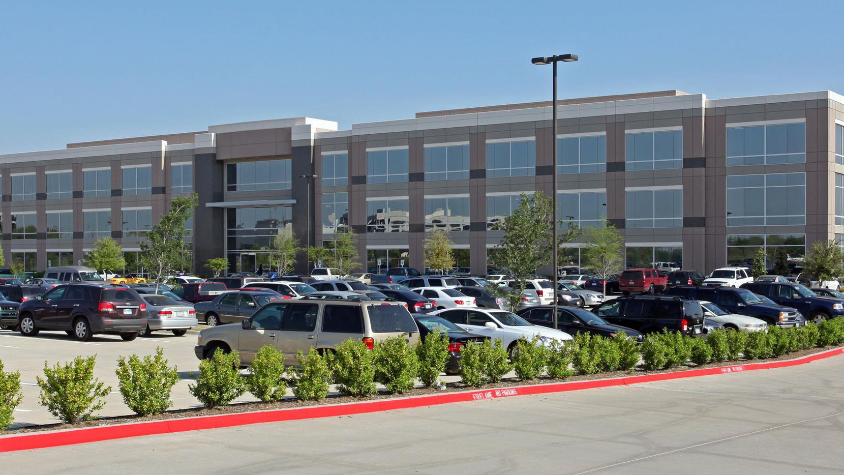 Exeter Finance has leased the Carpenter Corporate Center building at 2101 W. John Carpenter Fwy. in Irving.