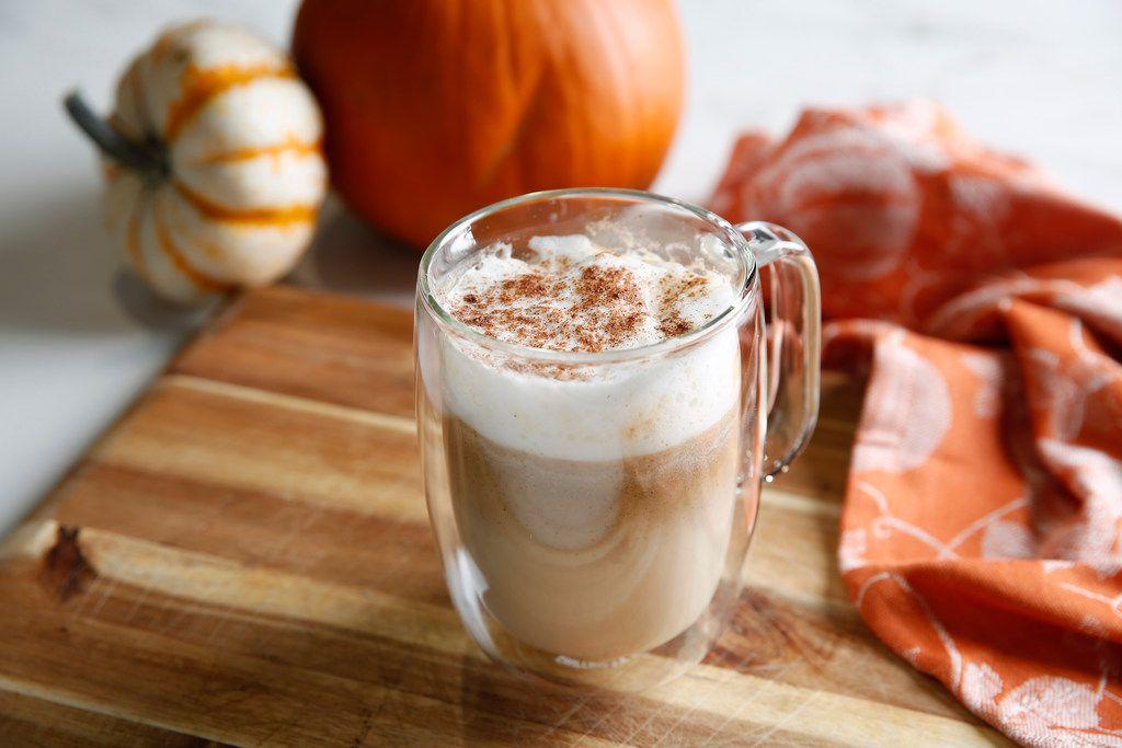 A healthier do-it-yourself version of Pumpkin Spice Latte