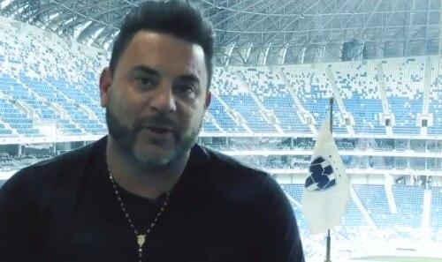 Captura de pantalla del video de Antonio Mohamed despidiéndose de los fans de Rayados de Monterrey.