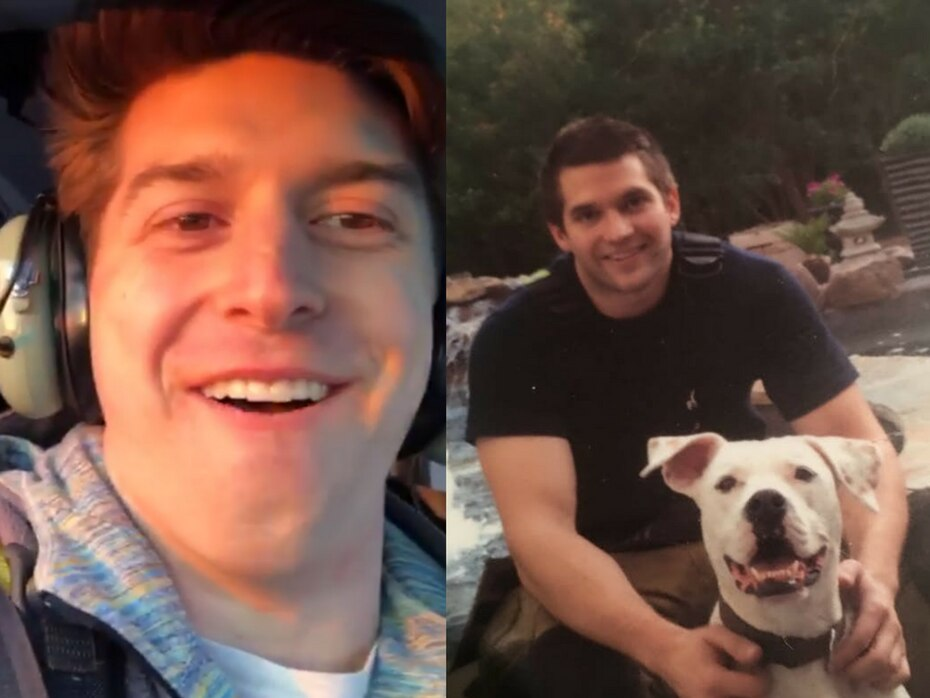 Trevor Cadigan (left) and Brian McDaniel died in Sunday's helicopter crash.