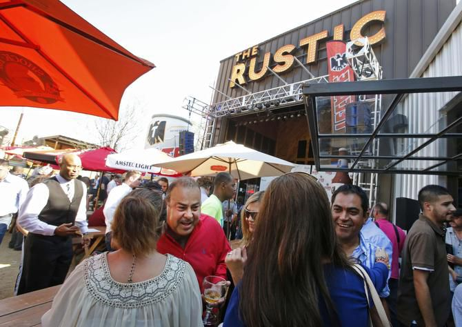 With an oversized patio and a stage for live music, The Rustic is the largest of FreeRange Concepts' restaurants.