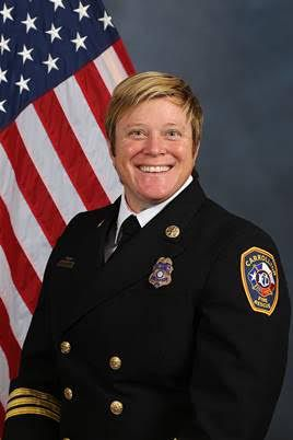 Carrollton's new Assistant Fire Chief Debbie Carpenter. Courtesy of city of Carrollton.