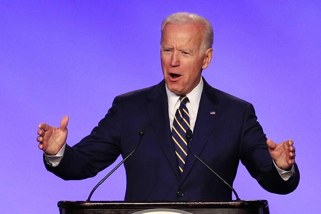 El exvicepresidente Joe Biden lanza campaña para la presidencia de Estados Unidos. AP