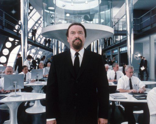 Rip Torn stars as Zed, MIB's chief head of operations, in the Columbia Pictures Sci-Fi Adventure Comedy, 'Men In Black II.'   2002 Columbia Pictures.