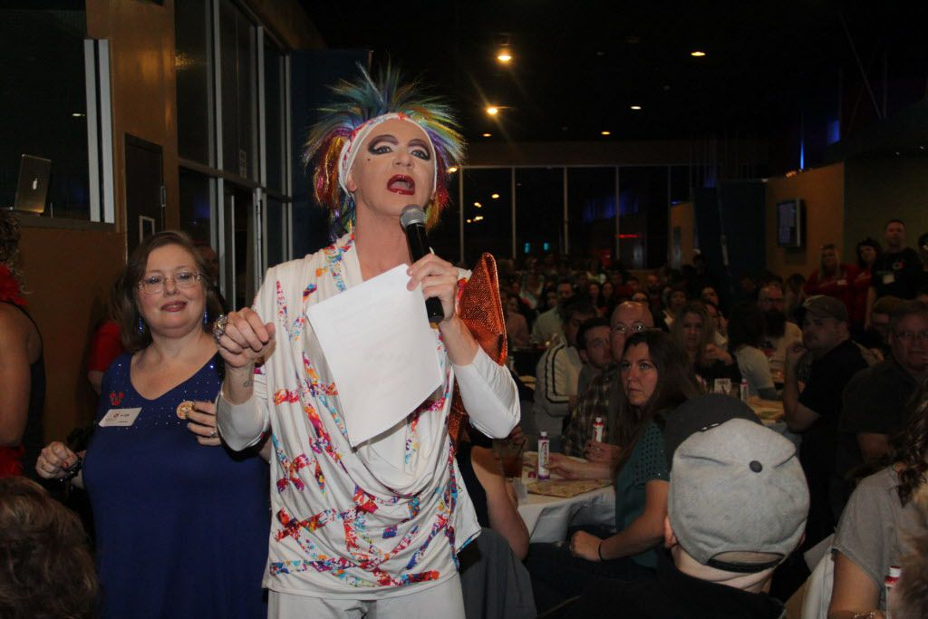 Gaybingo was held at S4 on Cedar Springs on Jan 16, 2016. Gaybingo combines drag, dance, and comedy into bingo. As an event of Resource Center, the funds raised directly benefit the programs and services of the Center.  Patti Le Plae Safe provides comedy entertainmet