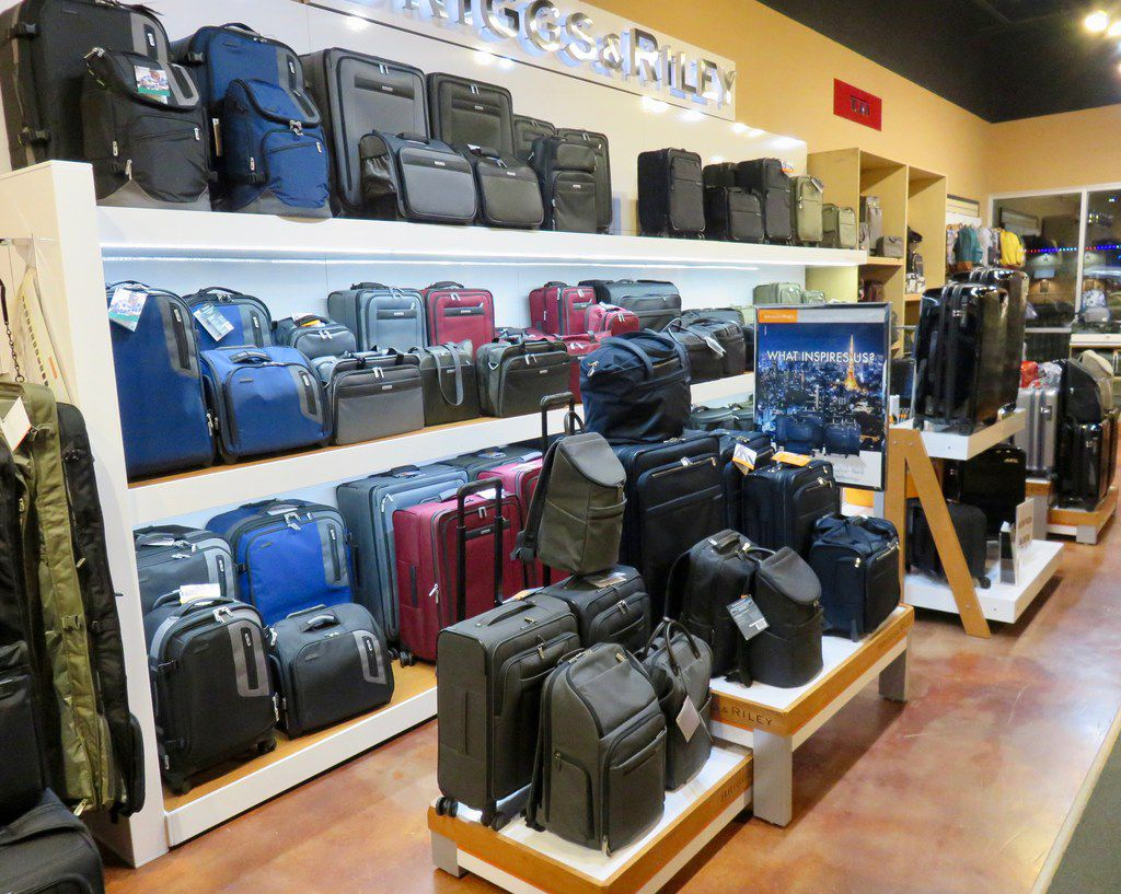 Luggage Shop of Lubbock sells some of the more popular brands of luggage including Tumi, Samsonite, Eagle Creek and Briggs & Riley.