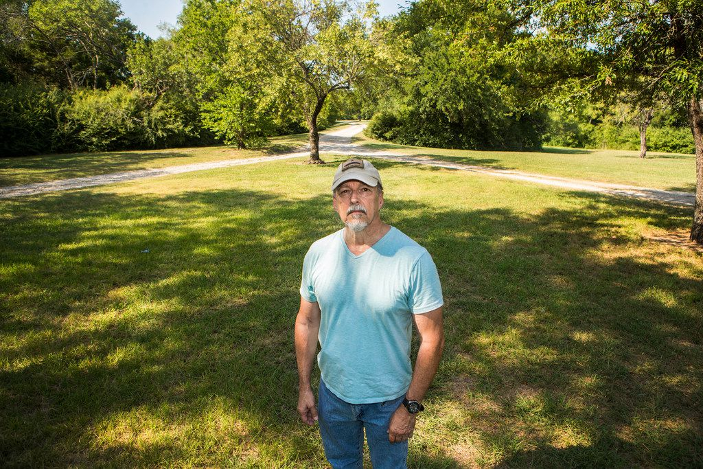 Hugh Brooks, director of Friends of the Farm, is once again concerned Dallas isn't doing right by Samuell Farm. (Carly Geraci/Staff Photographer)