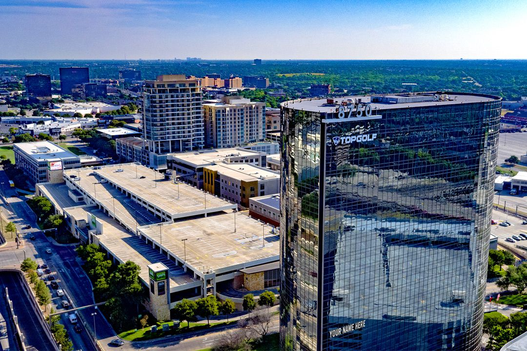 WeWork is building a new location in the North Central Expressway high-rise that also houses TopGolf.