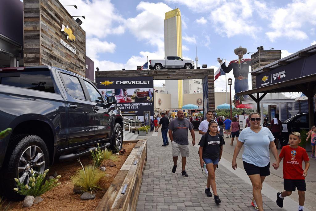 La exhibición de autos modelos 2019 es uno de los atractivos de la Feria Estatal de Texas. BEN TORRES/AL DÍA
