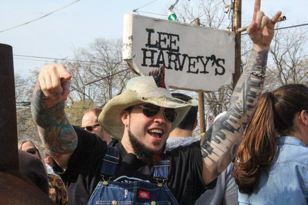 Chef Patrick Stark held the 1st Annual Patrick Stark's Mohawk Chili Cookoff at Lee Harvey's on March 7, 2015