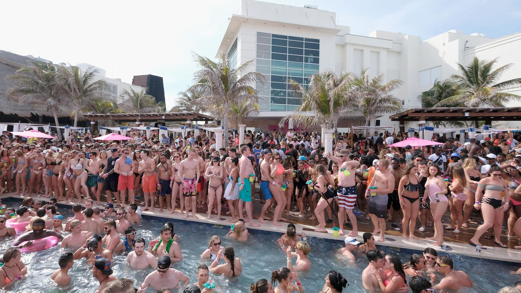 Cancún es uno de los destinos predilectos de los vacaciones durante el receso de primavera.(GETTY IMAGES)