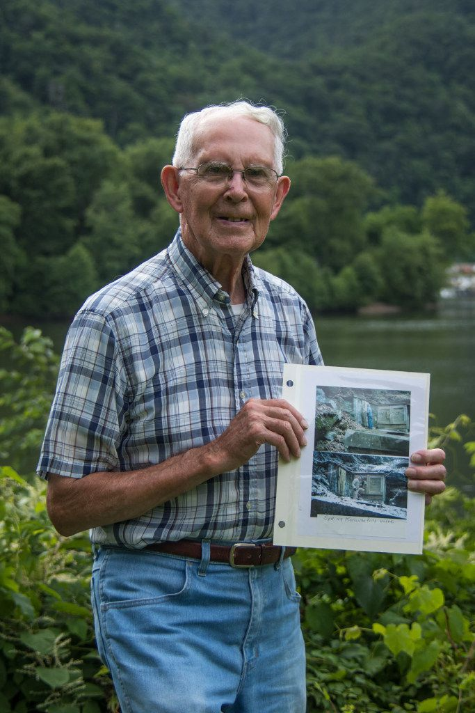 Bobby Kirby was nominated by his neighbors in  Kanawha Falls, W.Va. to be their water system treasurer. The job sometimes entails performing maintenance on the Civil War-era system, which sits in a wooded area on a mountain, about a half mile above the town and only accessible by a footpath.