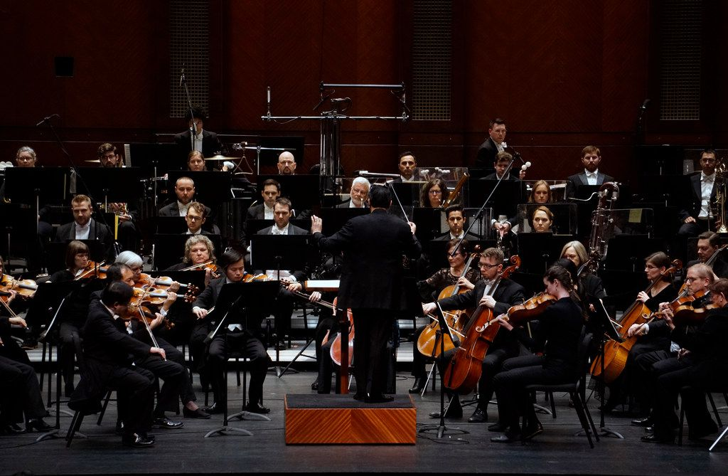 The Fort Worth Symphony Orchestra performs at Bass Performance Hall in Fort Worth, Texas on January 11, 2019.  (Lawrence Jenkins/Special Contributor)