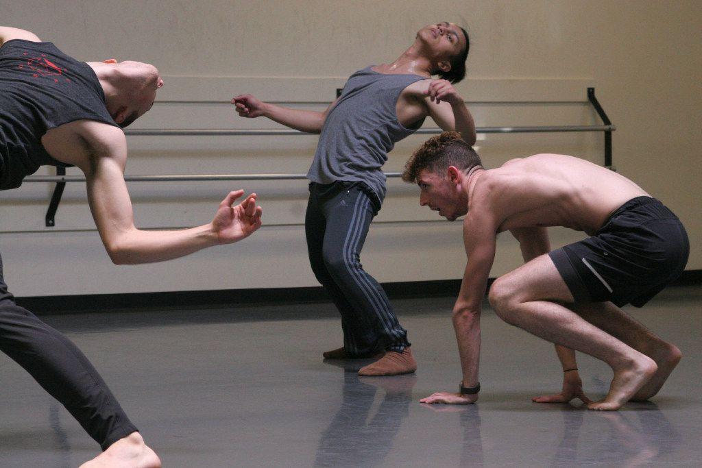 Dark Circles Contemporary Dance in Joshua L. Peugh's Bleachers