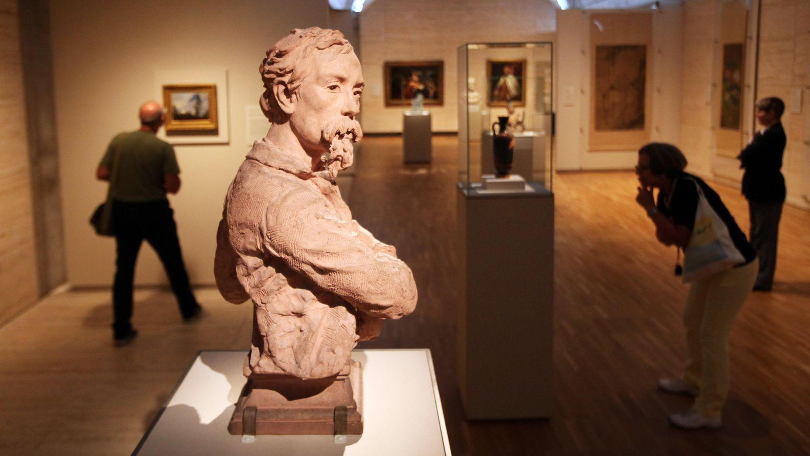 La colección permanente del Museo de Arte Kimbell tiene casi 350 piezas de Europa, Asia, Africa, Oceanía y Mesoamérica. (AL DÍA/BEN TORRES)