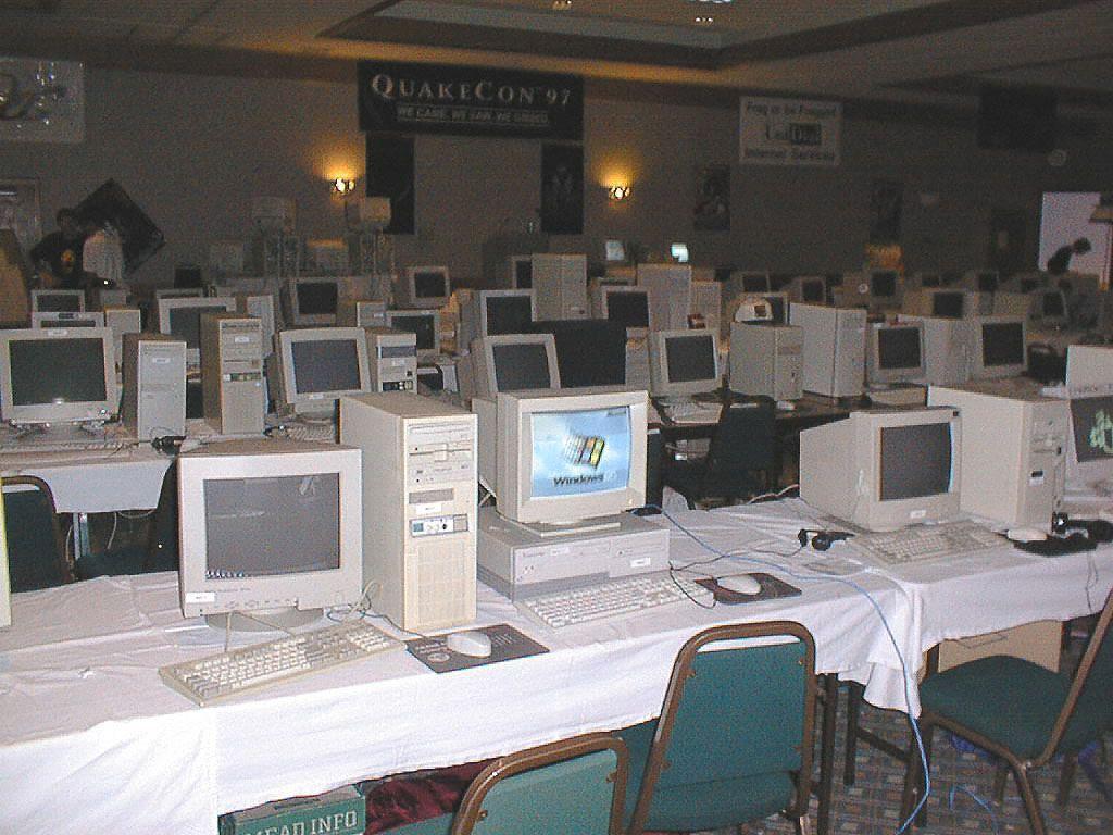 QuakeCon '97 in Plano.