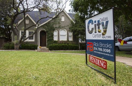Las disponibilidad de casas de $180,000 han disminuido en el último año. (DMN/ASHLEY LANDIS)