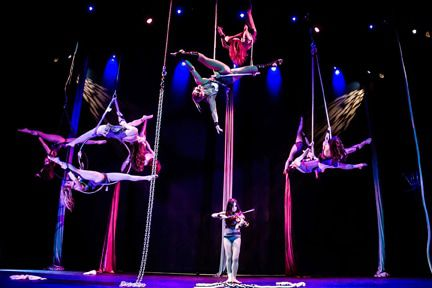 You may not be able to see yourself doing these aerial feats right now, but hey, everyone starts somewhere. The Southern Fried Circus Fest offers classes and two Sunday performances.