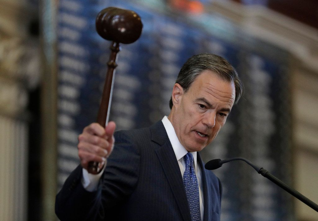 Speaker Joe Straus (file photo)