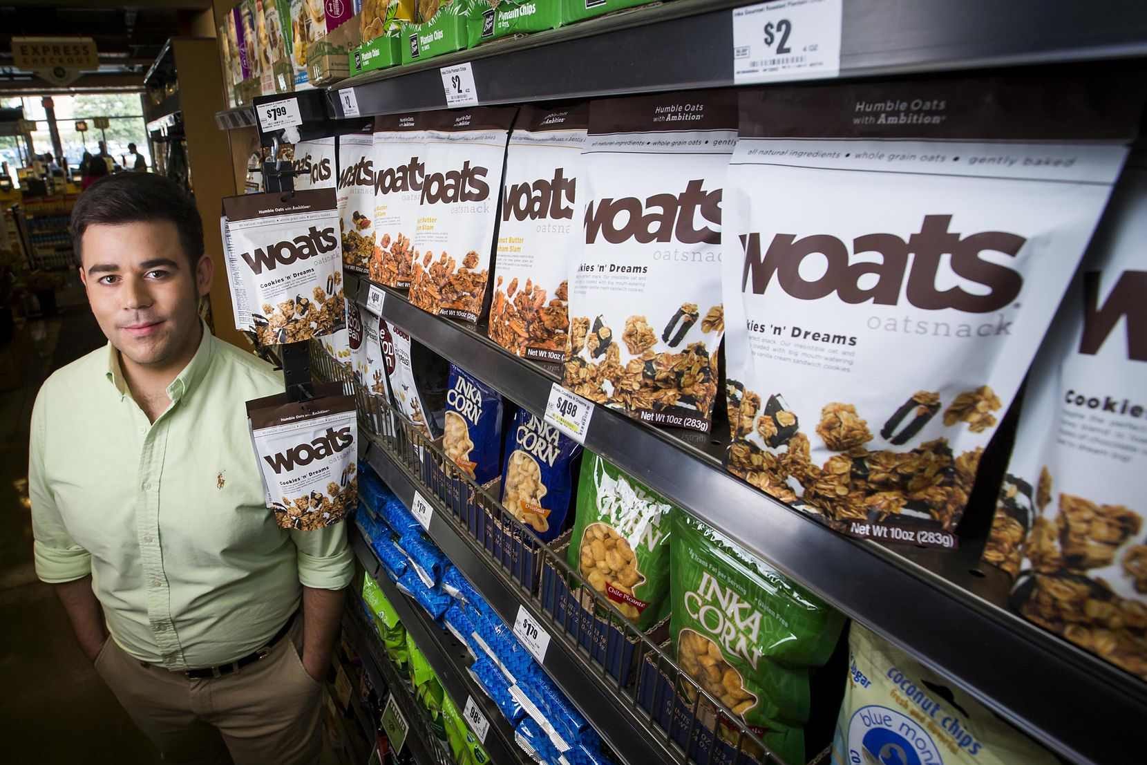Justin Anderson, founder & president of Woats Oatsnack, decided to reinvent his brand into a snack that could be a healthy indulgence. He started his first granola brand when he was in high school.