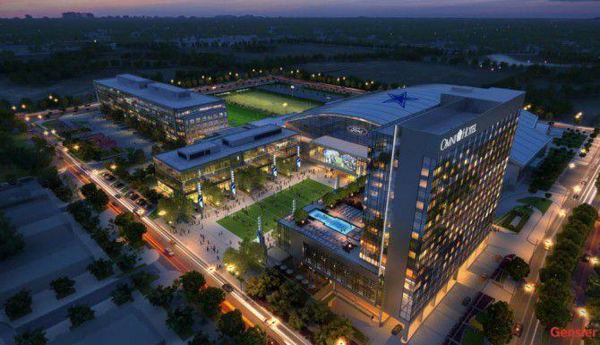 Se construye un hotel Omni junto al Centro Ford.