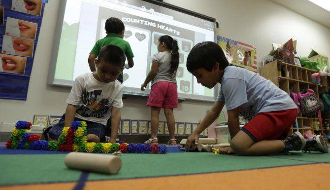 La Cámara de Representantes de Texas aprobó un presupuesto preliminar que defensores de la educación preescolar afirman no provee suficientes fondos para los programas de prekínder. (AP/ERIC GAY)
