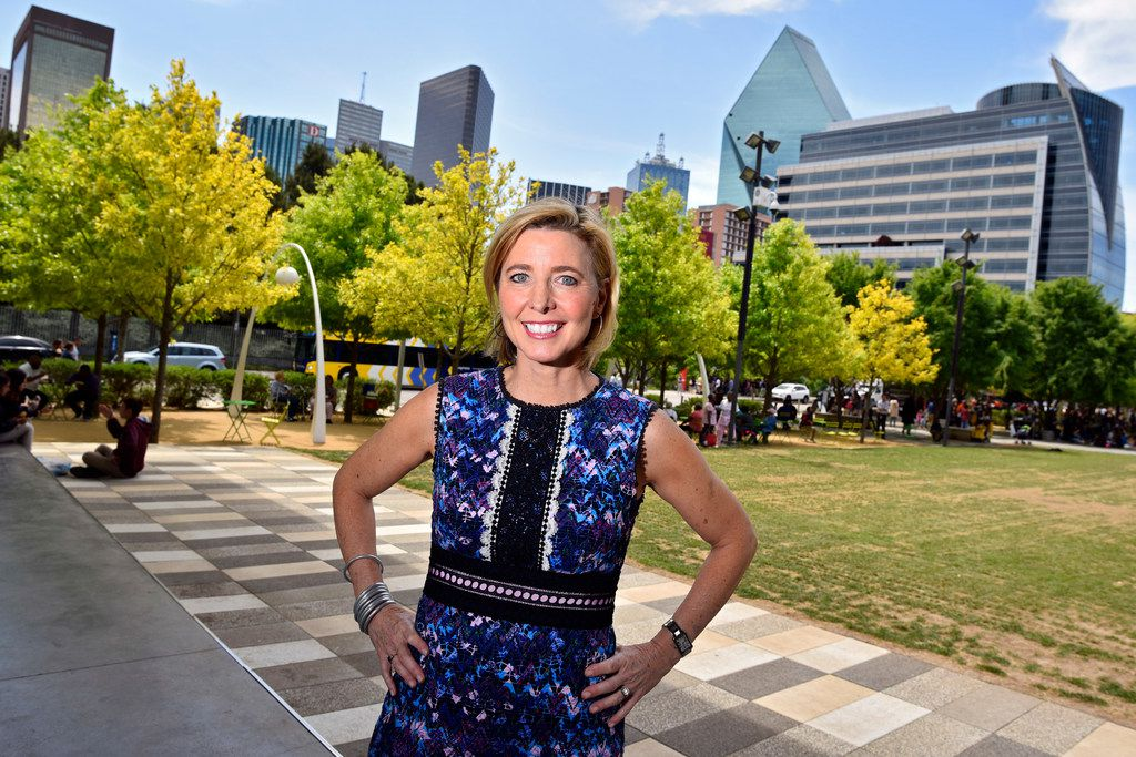Kit Sawers' first big event after formed her own special events company in 2012 was the opening of Klyde Warren Park. Now, she's coming aboard as the park's president.