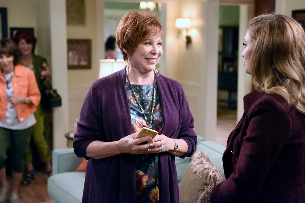 """Vicki Lawrence (left) plays Angie and Briga Heelan stars as Katie in """"Great News."""""""