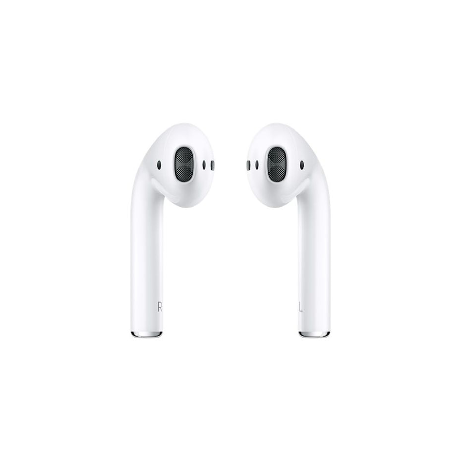 Apple's AirPods come with a case that's also a charger.