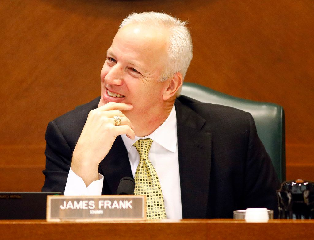 Rep. James Frank, R-Wichita Falls, wasn't a Freedom Caucus member in the Texas House. But he and other conservatives grew restive under former Speaker Joe Straus. This year, he's happy with new Speaker Dennis Bonnen and the session's work product.