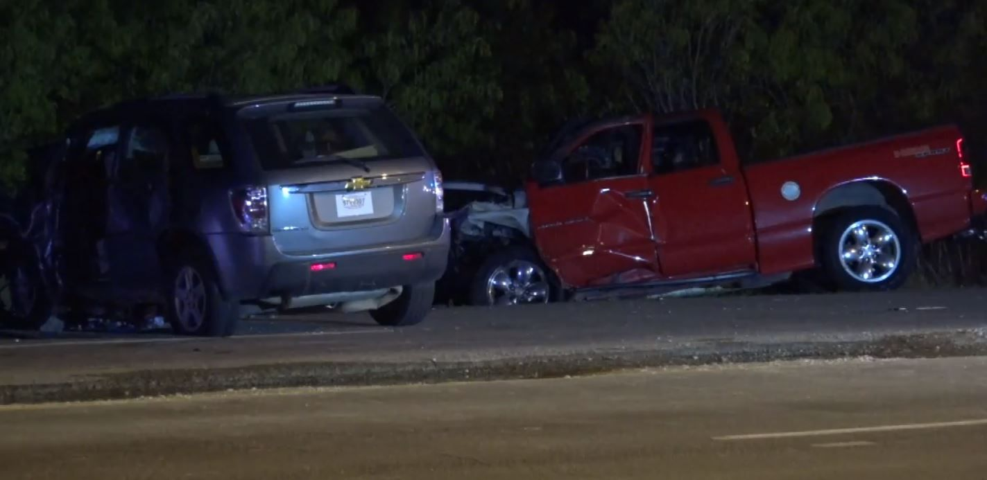 The crash on Canada Drive totaled both vehicles, killing both drivers and injuring their passengers.