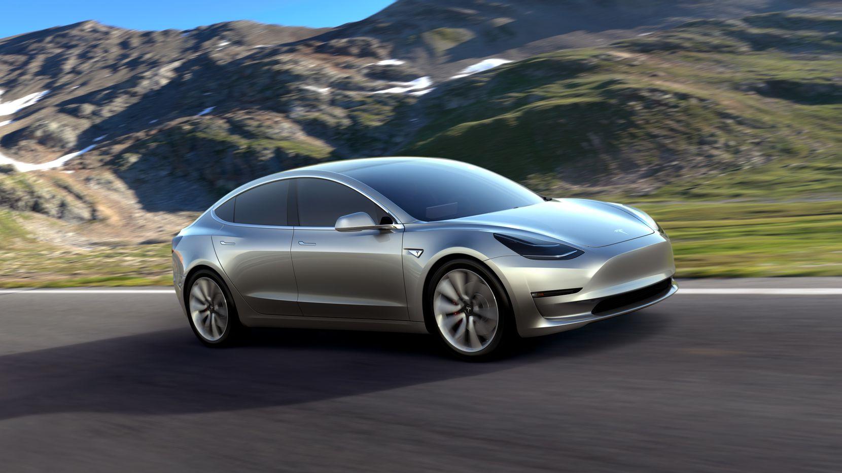 Tesla Motors presentó un  prototipo de su nuevo vehículo Model 3, que saldrá a la venta en el 2017.